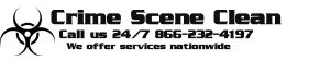 Crime Scene Clean Up Services